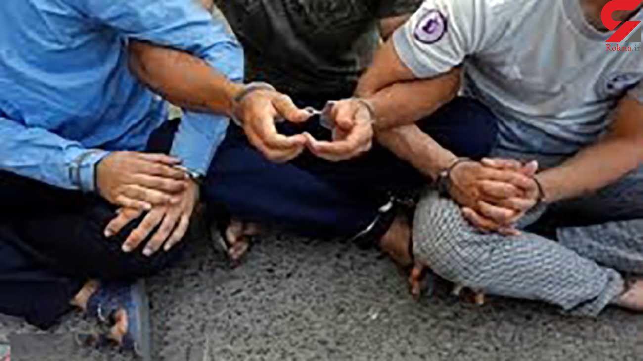 دستگیری سارقان حرفه ای در زابل