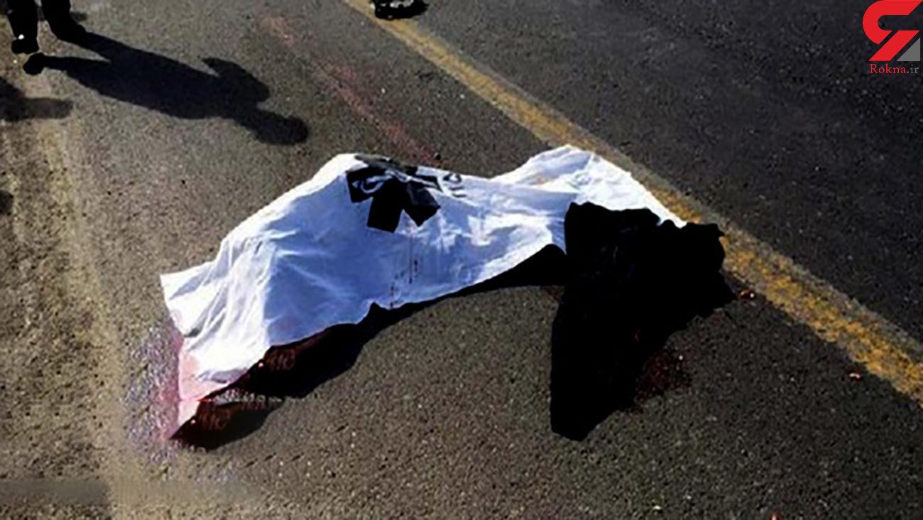 یک کشته و 3 مجروح در برخورد 2 دستگاه موتورسیکلت در قزوین