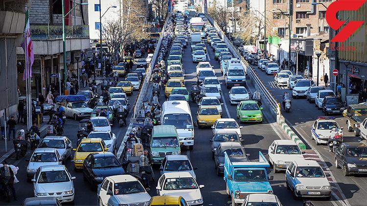 آخرین وضعیت ترافیک معابر بزرگراهی تهران در دومین روز از ماه مبارک رمضان