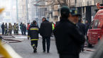 آخرین وضعیت اطفاء حریق ساختمان وزارت نیرو پس از 25 ساعت