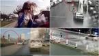 صحنههای دلخراش تصادف هنگام صحبت با موبایل +فیلم