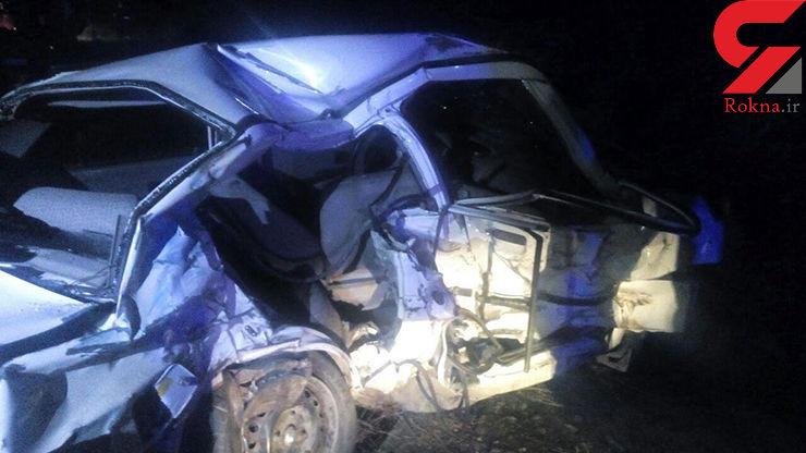 تصادف مرگبار زنجیره ای در جاده قوچان+ عکس