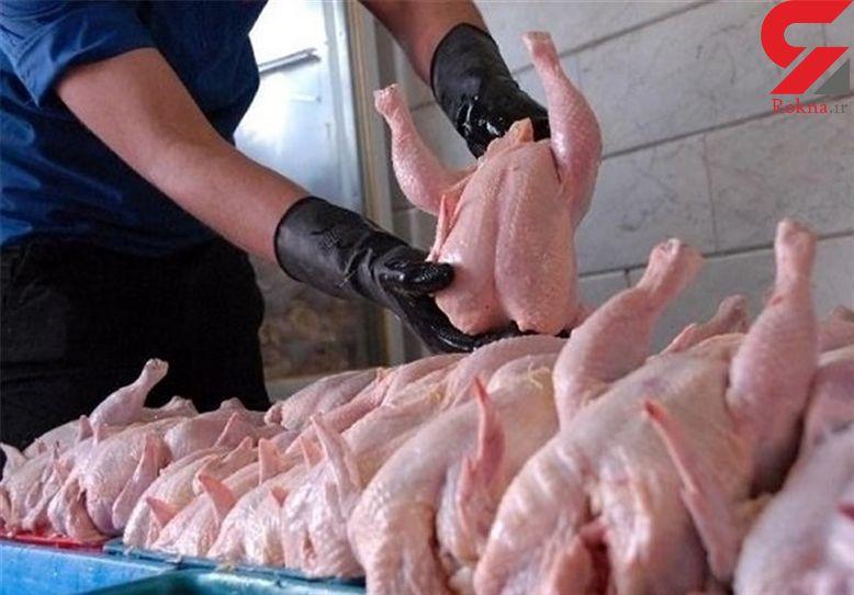 کاهش قیمت مرغ به مرز کیلویی 8 هزار تومان