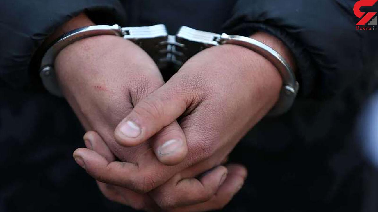 دستگیری سارقان قطعات داخل خودرو در ورامین