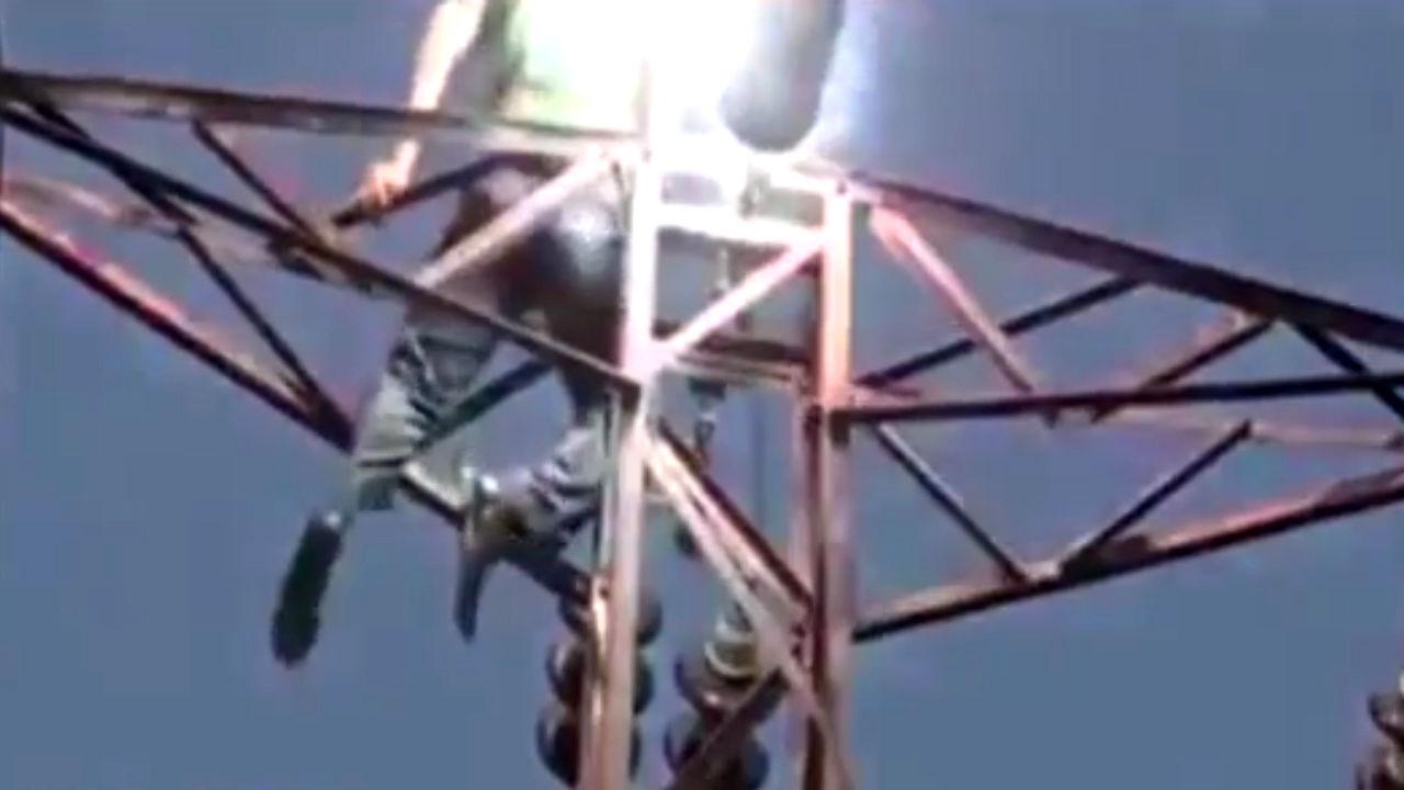 فوت سارق حین سرقت کابل برق در گرگان