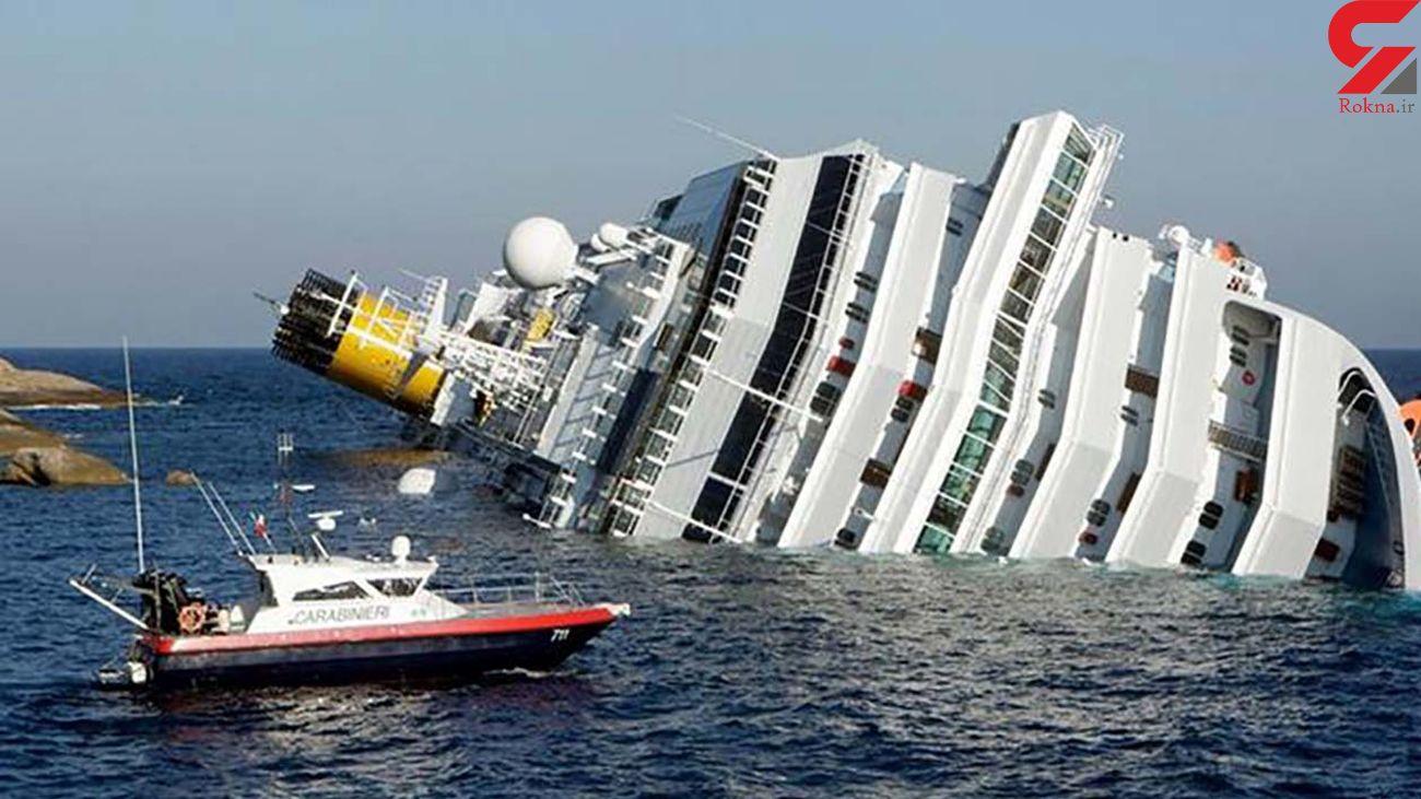 تصادف 2 کشتی در اندونزی + فیلم