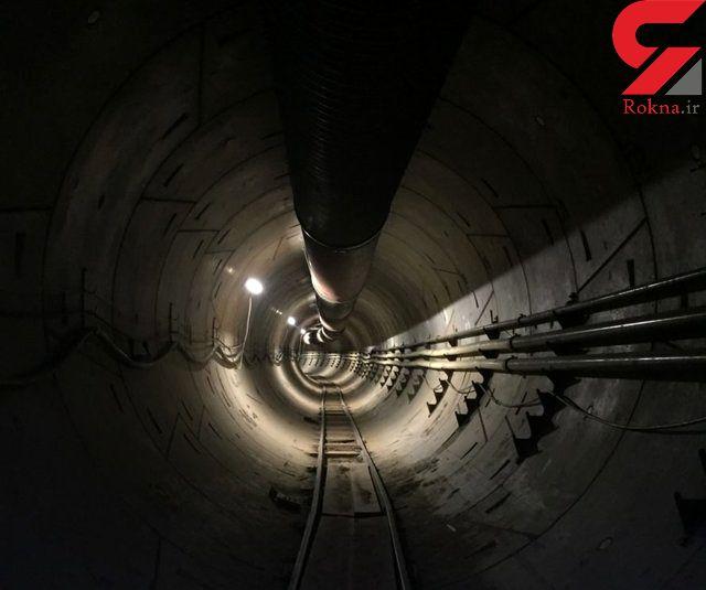 تونل زیرزمینی در لسآنجلس افتتاح شد