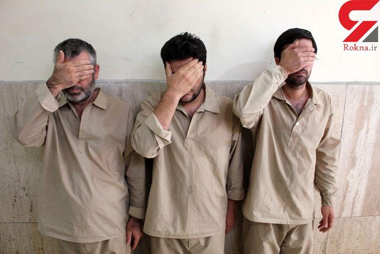 انهدام باند موادفروشان شرق پایتخت در خیابان دماوند و دستگیری 3 نفر +عکس