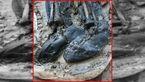 راز جسد دفن شده با چکمه های چرمی چه بود؟ +عکس