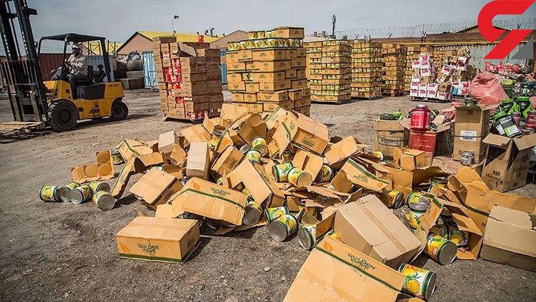 پلیس راهآهن: 117هزارتن کالای قاچاق درشبکه ریلی کشف شد