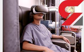 واقعیت مجازی به کمک کاهش درد می آید