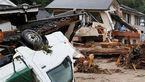 سیل در ژاپن 2 نفر را کشت