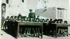 کلاس درس روستای گل تپە جهانگیرخان #سقز 1345 شمسی