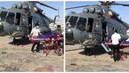 امداد هوایی سپاه جان 2 زن جاسکی را نجات داد