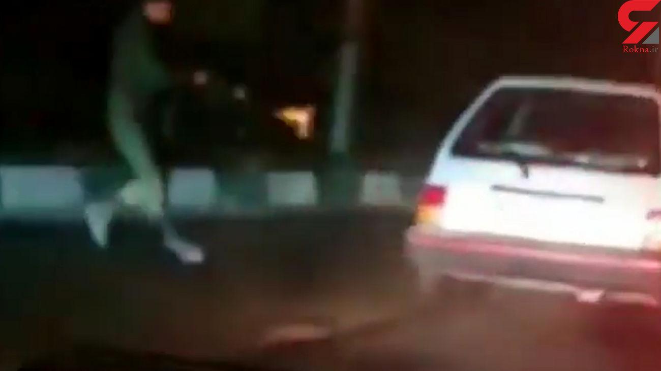 فیلم به رگبار بستن ماشین دزدان توسط پلیس در پرند