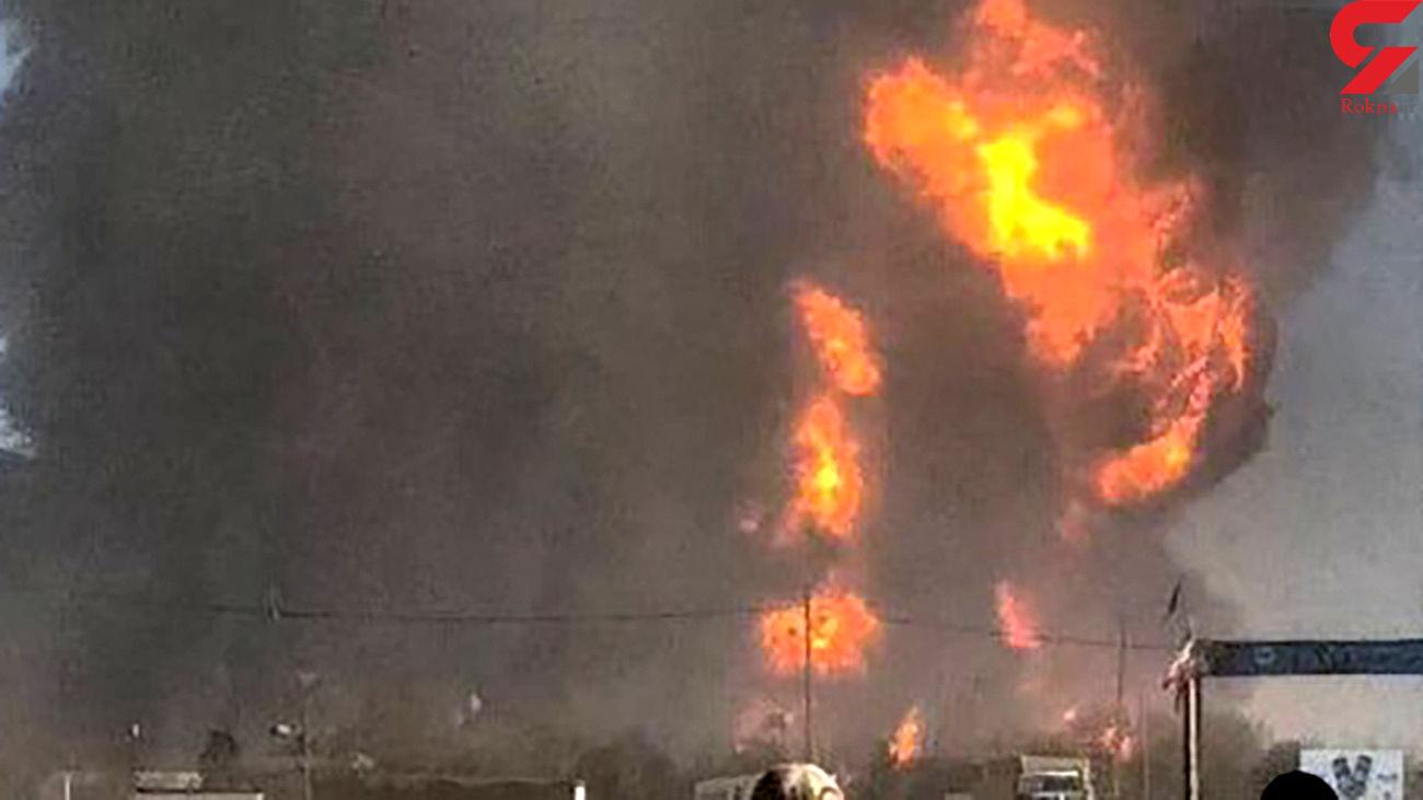 50 کشته احتمالی در انفجار گمرک ایران و افغانستان + فیلم دیده نشده