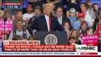پرت کردن پرچم روسیه به صورت ترامپ و واکنش او + فیلم