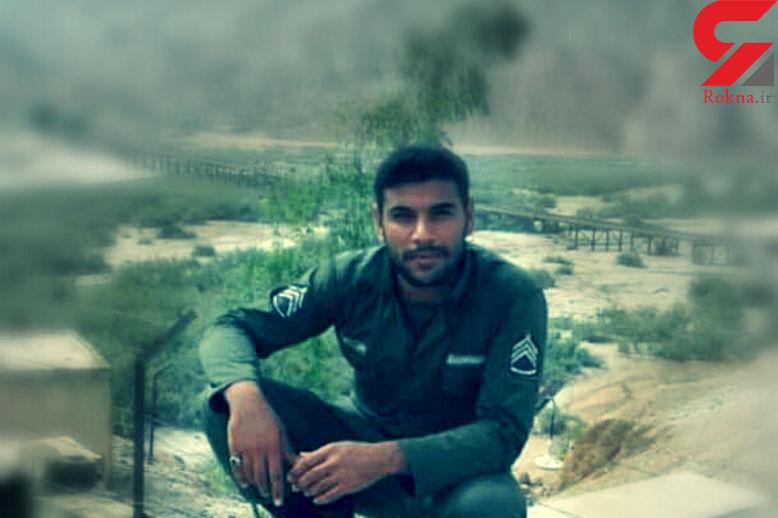 عکس / این سرباز وظیفه شهید شد / سلیم شاوردی در پل زهره خدمت می کرد