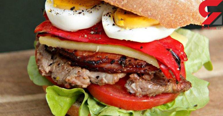 ساندویچ چیویتو یک غذای سنتی اروگوئهای+دستور تهیه