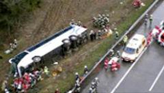 10 کشته و 30 زخمی در واژگونی اتوبوسی در آفریقای جنوبی