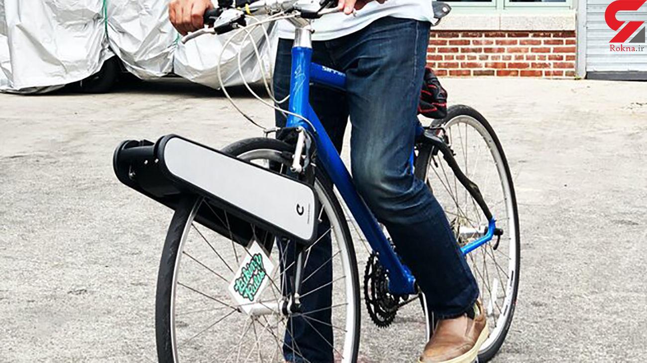 دوچرخه معمولی را به دوچرخه برقی تبدیل کنید