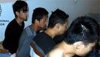 قاچاقچیان انسان 7 مرد را زیر مخزن آب اتوبوس  مخفی کرده بودند/در مرز ایران فاش شد