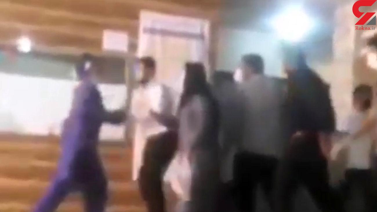 درگیری در بخش کرونای بیمارستان دزفول + فیلم