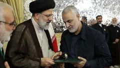 حکم جدید سید ابراهیم رئیسی  برای سردار سلیمانی +عکس