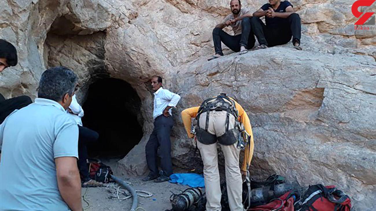 مردی زیر سنگ 50 تنی جان باخت / مرگ مشابه 2 جوینده گنج در سیاهکل