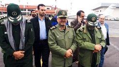 بازدید فرمانده سپاه از مناطق سیلزده گمیشان و آققلا+ فیلم و تصاویر