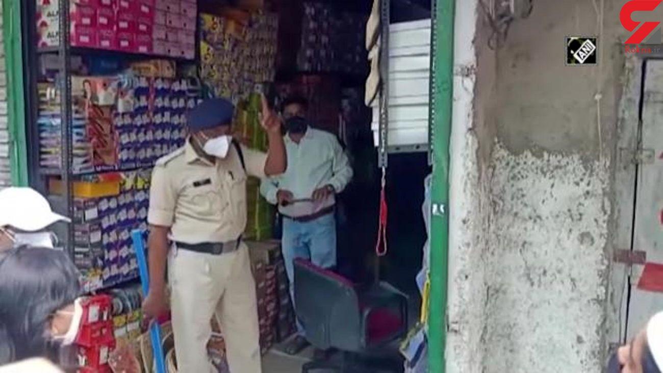 ناظر وزارت بهداشت مرد مغازه دار را کتک زد + فیلم و عکس