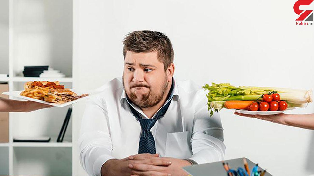 چه عادات غذایی منجر به چاقی می شوند؟