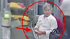 دوربینهای مداربسته فرودگاه لحظه کار کثیف یک مرد را ضبط کردند+ عکس