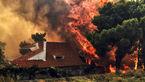 ماجرای عمدی بودن آتش سوزی مرگبار در یونان + عکس