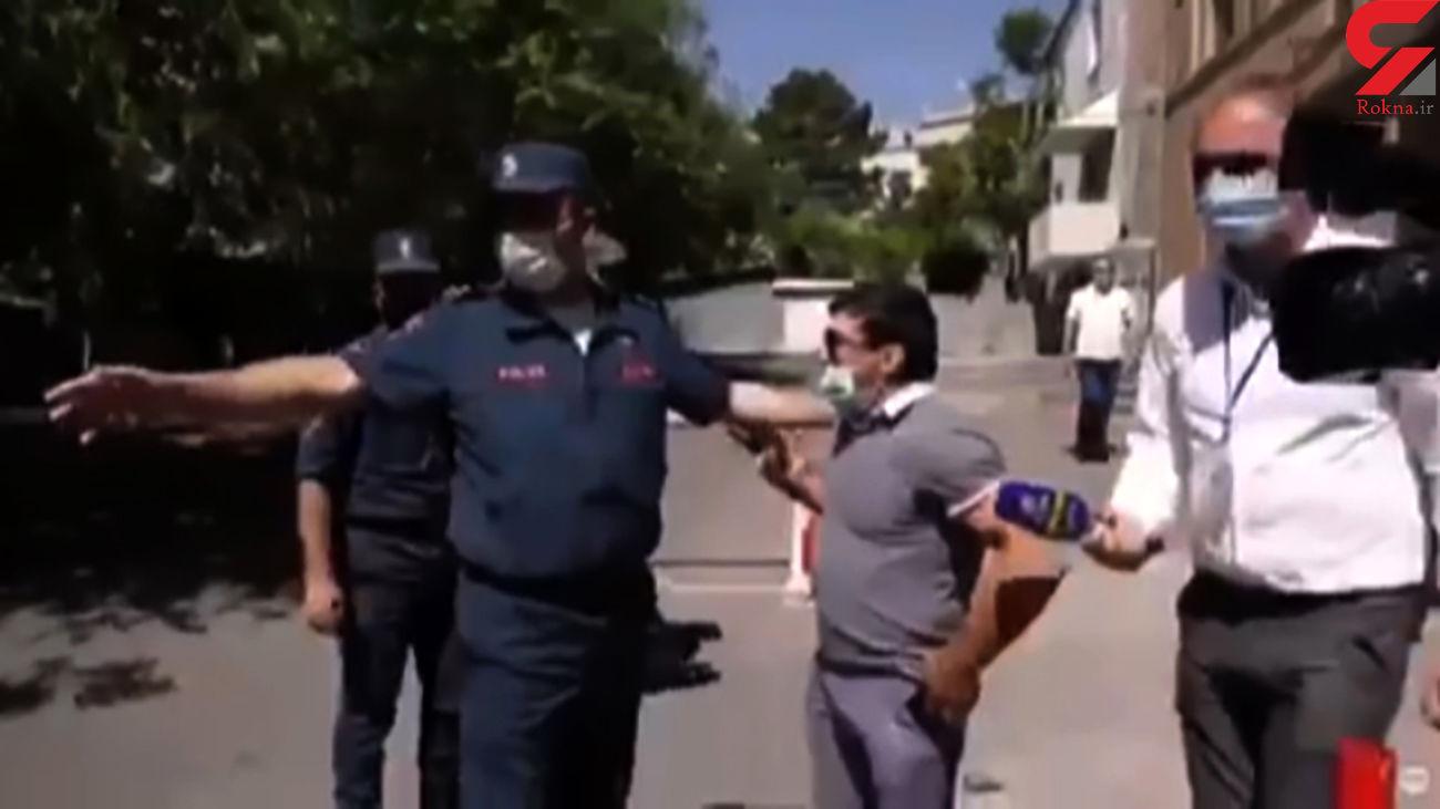 بازداشت کشتی گیر معروف توسط پلیس به دلیل جرم سیاسی + فیلم / ارمنستان