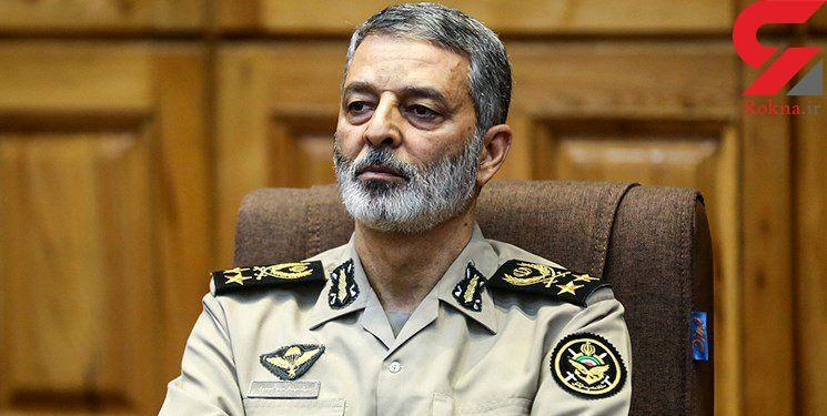 فرمانده کل ارتش: امنیت تنگه هرمز با ائتلافهای دروغین تامین نمیشود