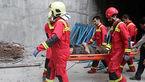 سقوط مرگبار مرد ساوجی از داربست