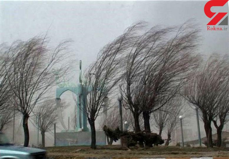 سرعت وزش باد در زاهدان به 100 کیلومتر بر ساعت می رسد