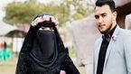 لباس عجیب عروس در روز جشن / داماد شوکه شد!+عکس