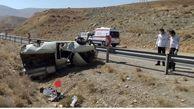 واژگونی خودروی سواری در سمیرم با یک کشته و یک مصدوم