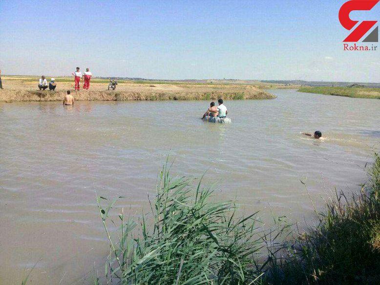 مرد 35 ساله در کانال آب شوشتر خفه شد +عکس