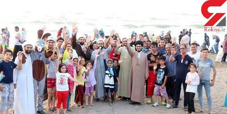 منبر ساحلی در بابلسر ! / حاج آقا از لج شما روسری ام را انداختم ! + تصاویر
