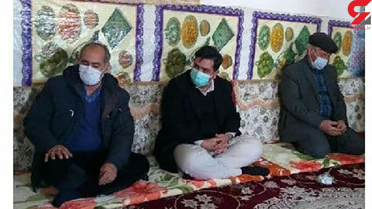 تقدیر از سرباز وظیفه معلم روستا در هشترود
