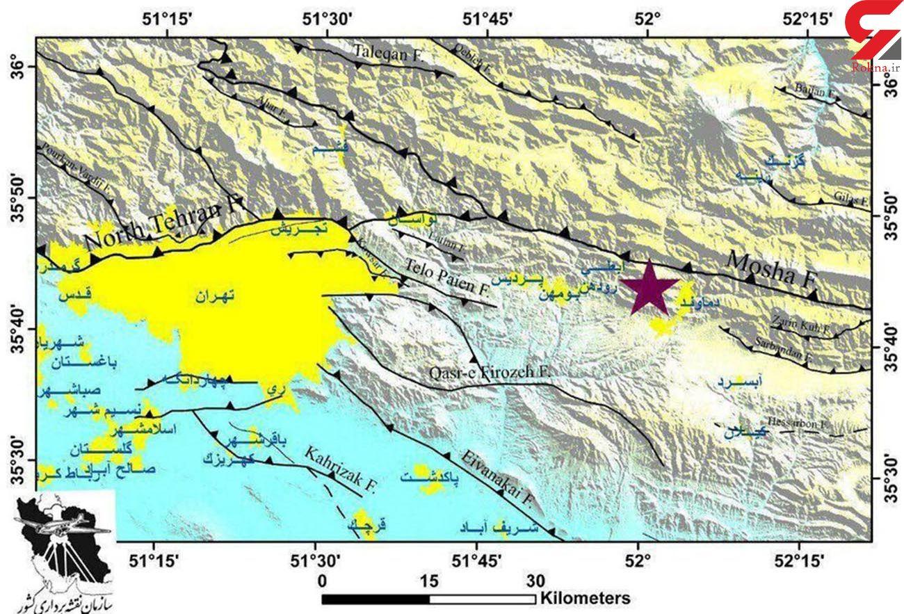 گسل مشاء فعال شده است | نصب ۲۲ شتابنگار زلزله در پایتخت