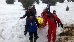 """نجات جان 6 کوهنورد در """"قله آبیدر سنندج"""" توسط نجاتگران هلالاحمر+تصویر"""