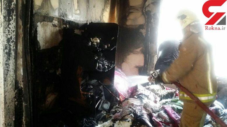 انفجار مرگبار در جنوب تهران/ مردم خزانه وحشت کردند +فیلم و عکس