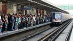 خطرناکترین کار در متروی کرج به تهران + فیلم