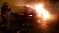 راز انفجار مرگبار در زیر صندلی راننده سراتو / مواد منفجره بمب بود؟ / در گرگان رخ داد