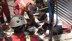 حادثه وحشتناک برای چاهکن جوان در خیابان ستاری + عکس