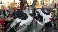 تصادف پرحادثه در تبریز